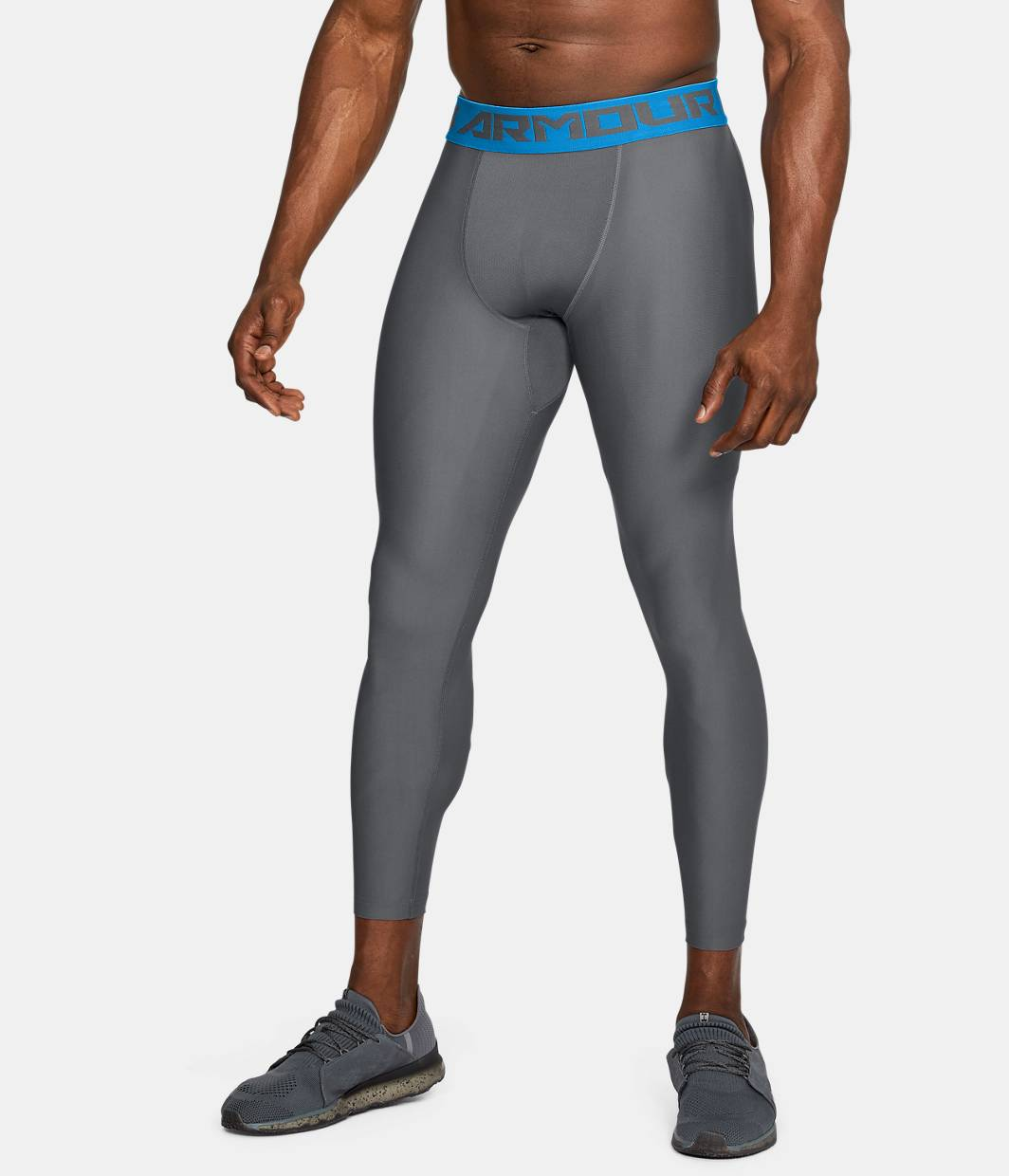 Mens leggings tights under armour us mens heatgear armour compression leggings 5 colors 3499 sciox Images