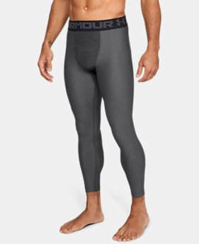 Men's HeatGear® Armour Compression Leggings  2  Colors Available $34.99
