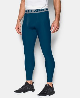 New Arrival Men's HeatGear® Armour Compression Leggings   2 Colors $34.99