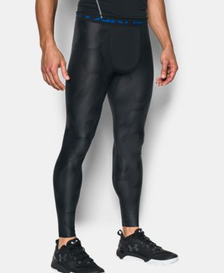 Men's HeatGear® Armour Printed Compression Leggings
