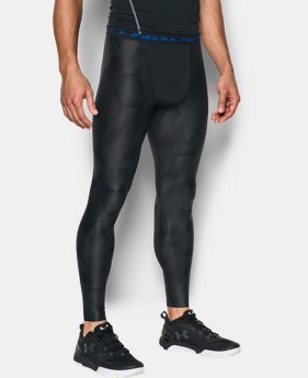 Men's HeatGear® Armour Printed Compression Leggings  1 Color $33.99