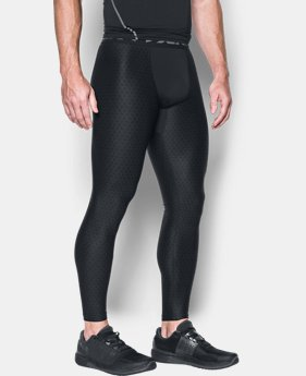Men's HeatGear® Armour Printed Compression Leggings  4 Colors $44.99