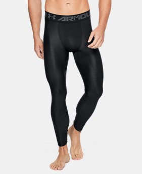 Men's HeatGear® Armour Printed Compression Leggings  3  Colors $44.99