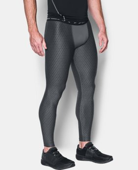 Men's HeatGear® Armour Printed Compression Leggings  1 Color $37.49