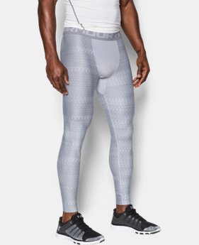 Men's HeatGear® Armour Printed Compression Leggings  3 Colors $23.99 to $25.49