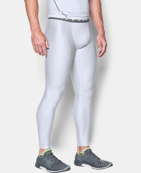 Men's HeatGear® Armour Printed Compression Leggings  1 Color $44.99