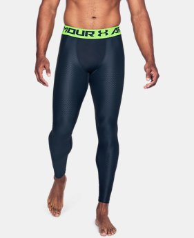 Men's HeatGear® Armour Printed Compression Leggings LIMITED TIME: FREE U.S. SHIPPING 1 Color $44.99