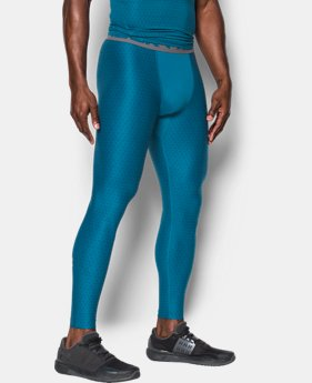 Men's HeatGear® Armour Printed Compression Leggings   $44.99