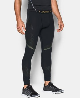 New Arrival Men's HeatGear® Armour Zone Compression Leggings  1 Color $69.99
