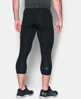 Men's HeatGear® CoolSwitch Armour ¾ Compression Leggings  1 Color $49.99