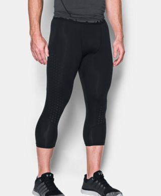 Men's HeatGear® CoolSwitch Armour ¾ Compression Leggings