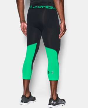 New Arrival  Men's HeatGear® CoolSwitch Armour ¾ Compression Leggings  1 Color $49.99