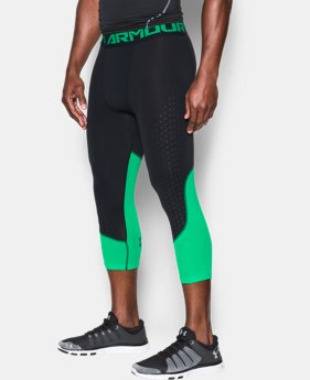 Men's HeatGear® CoolSwitch Armour ¾ Compression Leggings  1 Color $18.74