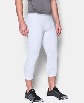 Men's HeatGear® CoolSwitch Armour ¾ Compression Leggings  1 Color $26.99 to $33.99