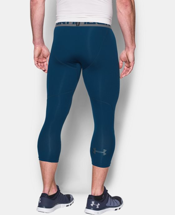 New Arrival  Men's HeatGear® CoolSwitch Armour ¾ Compression Leggings   $49.99
