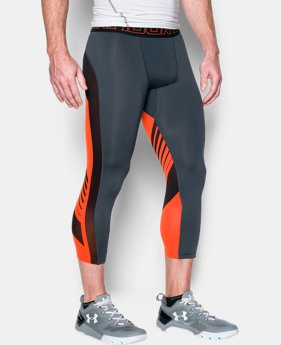 Men's HeatGear® SuperVent Compression ¾ Leggings  2 Colors $23.99