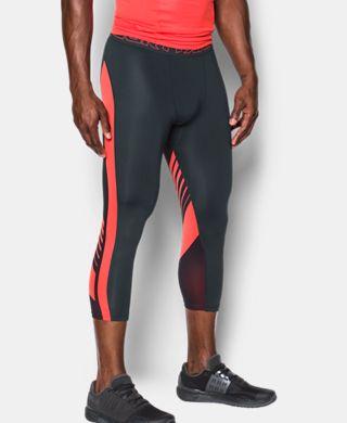 Men's HeatGear® Supervent Compression ¾ Leggings