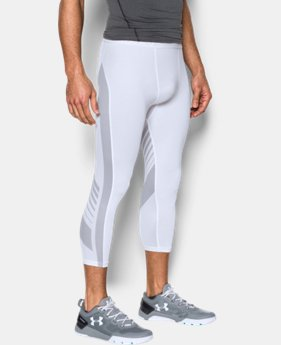 New to Outlet Men's HeatGear® SuperVent Compression ¾ Leggings  1 Color $31.99 to $33.74