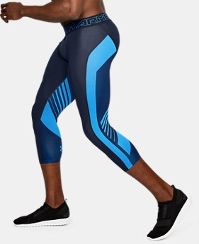 Men's HeatGear® SuperVent Compression ¾ Leggings  5 Colors $44.99