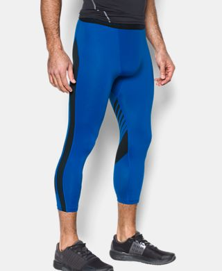Men's HeatGear® Supervent Compression ¾ Leggings