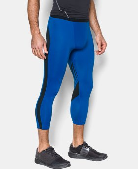 Men's HeatGear® SuperVent Compression ¾ Leggings  1 Color $23.99