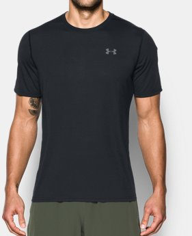 Under Armour FOUNDATION - Camiseta print - charcoal medium heather/graphite/black QompP
