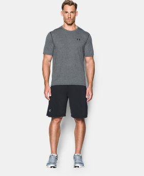Best Seller Men's UA Threadborne Siro T-Shirt  1  Color Available $17.99 to $22.99