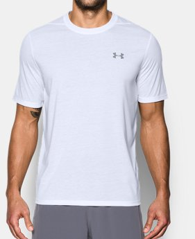 Men's White Short Sleeve Shirts | Under Armour US