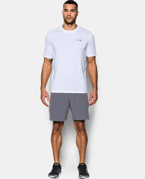 New Arrival Men's UA Threadborne T-Shirt LIMITED TIME: FREE U.S. SHIPPING 8 Colors $29.99