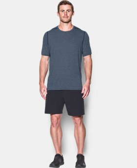 Best Seller Men's UA Threadborne Siro T-Shirt  3  Colors Available $29.99