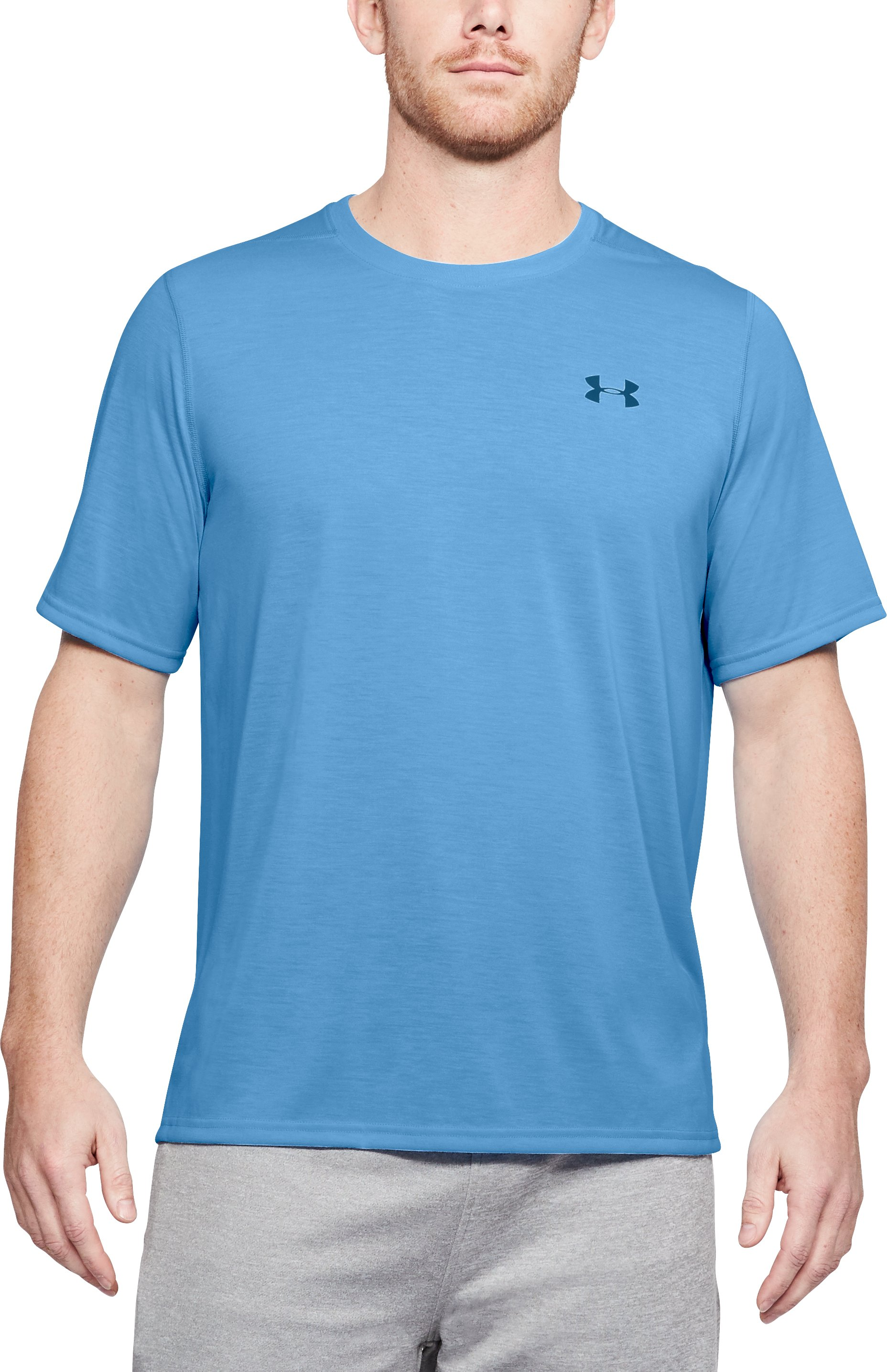 carolina blue t-shirt Men's UA Threadborne Siro T-Shirt Love my shirt!...Love it!...Almost Perfect!