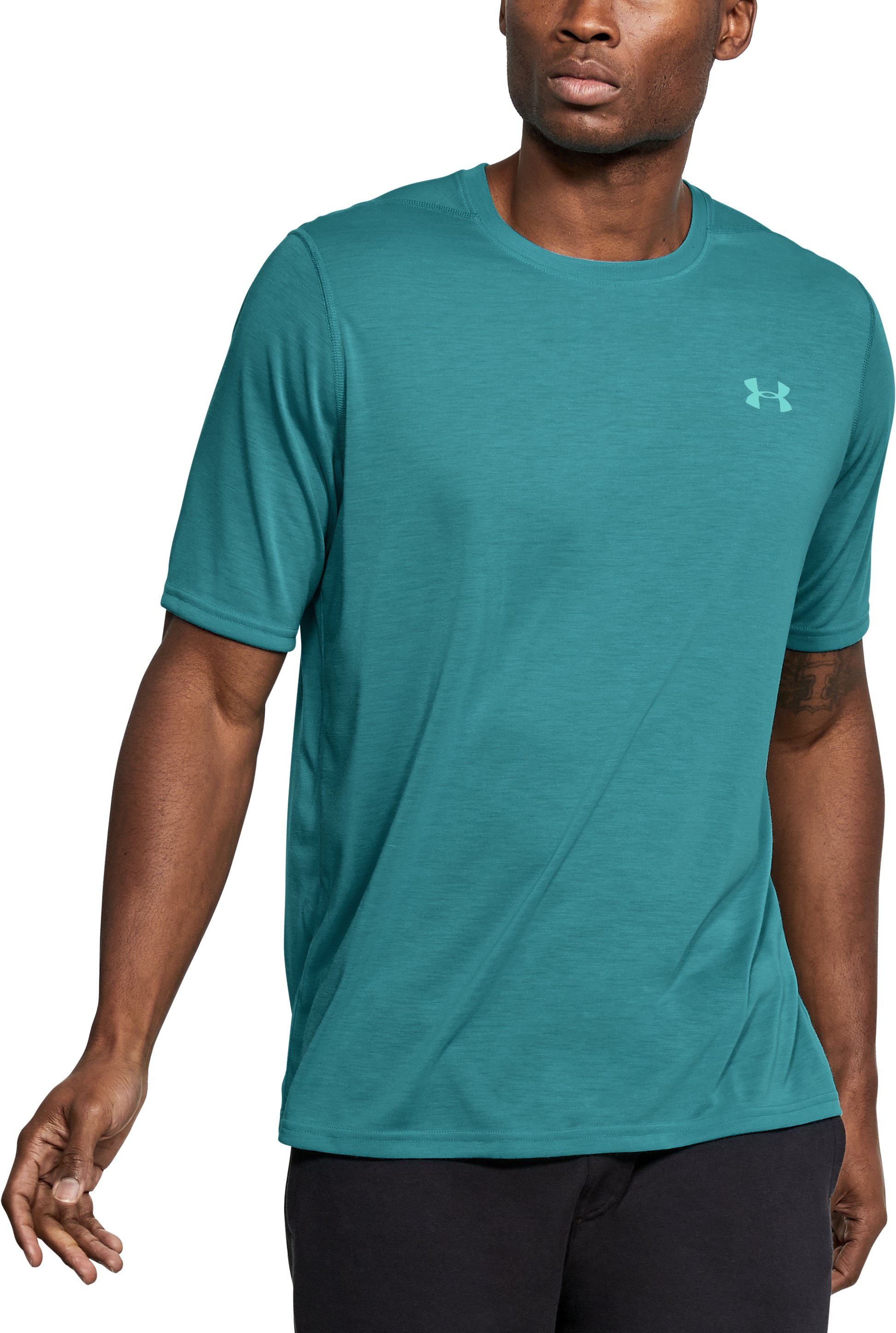 Men's UA Threadborne Siro T-Shirt, Desert Sky
