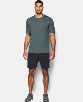 Best Seller Men's UA Threadborne Siro T-Shirt FREE U.S. SHIPPING 4  Colors Available $17.99 to $22.49