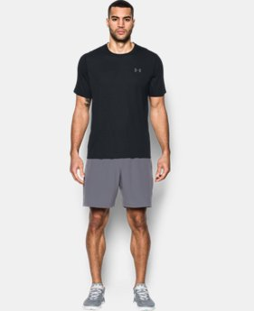 New Arrival Men's UA Threadborne Siro Embossed T-Shirt  1 Color $39.99