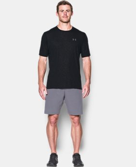 Men's UA Threadborne Siro Embossed T-Shirt  1 Color $29.99