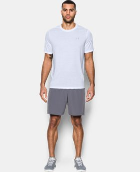 New Arrival Men's UA Threadborne Siro Embossed T-Shirt  1 Color $29.99