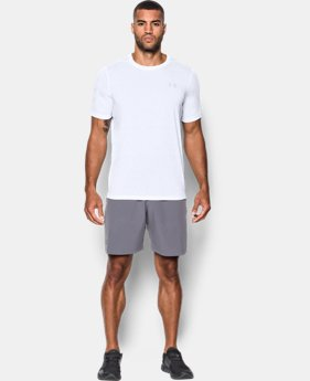Men's UA Threadborne Siro Embossed T-Shirt LIMITED TIME OFFER 2 Colors $20.99