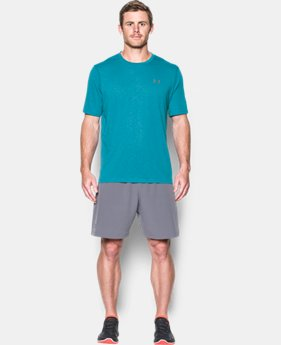 Men's UA Threadborne Siro Embossed T-Shirt LIMITED TIME OFFER 4 Colors $27.99
