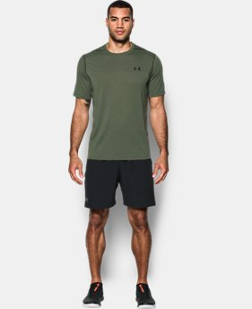 Men's UA Threadborne Siro Striped T-Shirt LIMITED TIME OFFER 1 Color $20.99