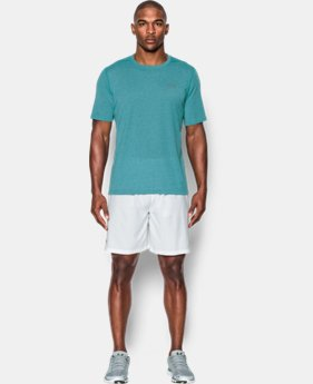 New Arrival Men's UA Threadborne Twist T-Shirt  LIMITED TIME: FREE U.S. SHIPPING 2 Colors $29.99