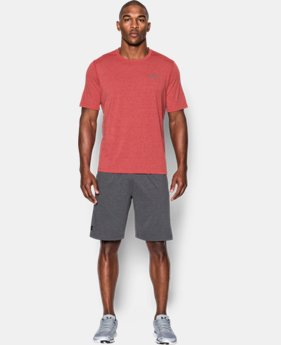 New Arrival Men's UA Threadborne Twist T-Shirt  LIMITED TIME: FREE U.S. SHIPPING 1 Color $29.99