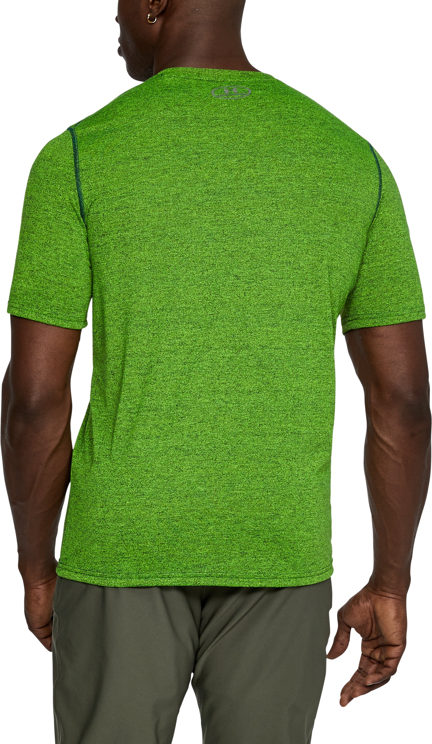 Men's UA Threadborne Siro Twist T-Shirt, ARDEN GREEN