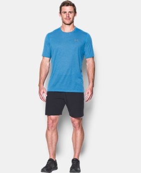 New Arrival  Men's UA Threadborne Siro Twist T-Shirt  1 Color $39.99