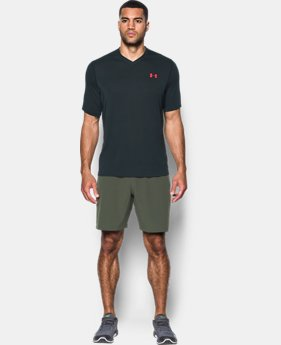 Men's UA Threadborne Siro V-Neck T-Shirt  4 Colors $39.99