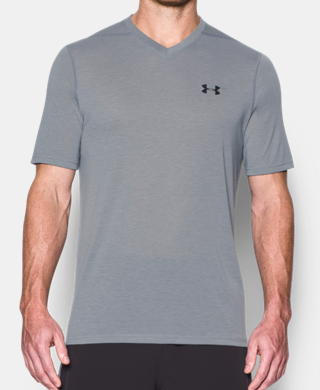 Men's UA Threadborne V-Neck T-Shirt
