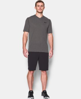 Best Seller Men's UA Threadborne Siro V-Neck T-Shirt LIMITED TIME: FREE U.S. SHIPPING 1  Color Available $29.99