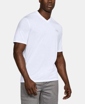 Best Seller Men's UA Threadborne Siro V-Neck T-Shirt  2 Colors $29.99