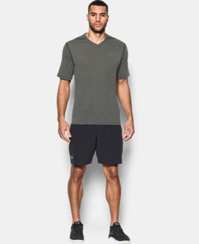 Men's UA Threadborne Siro V-Neck T-Shirt  1 Color $22.99