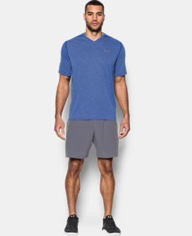 Men's UA Threadborne Siro V-Neck T-Shirt LIMITED TIME OFFER 2 Colors $27.99