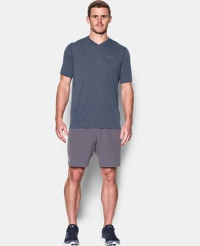 Men's UA Threadborne Siro V-Neck T-Shirt LIMITED TIME OFFER 2 Colors $20.99
